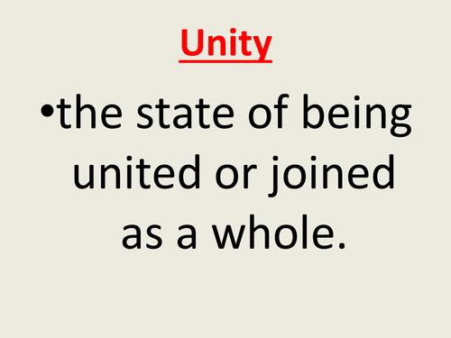 Unity assembly