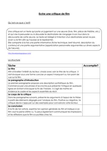 Le fabuleux destin d'Amélie Poulain - Resource booklet