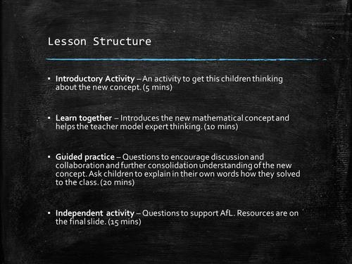 Written Methods - Multiplication - Year 3 - Mastery - 5 Lessons