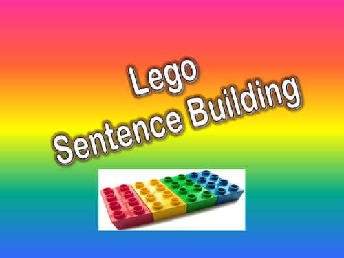 Sentence skills lesson and worksheets.