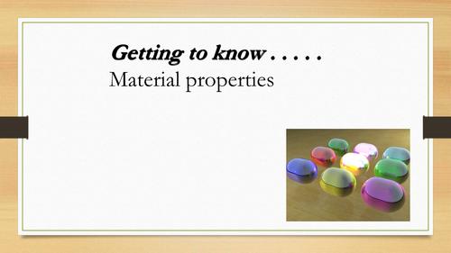 D&T QUIZ : Material Properties