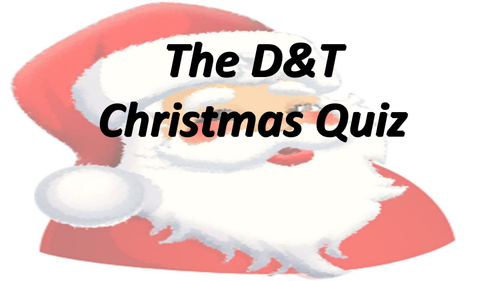 D&T Christmas Quiz