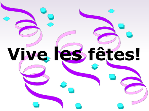 French Basics - French festivals: information and reading tasks