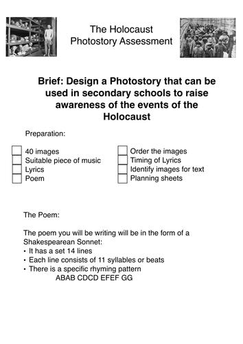 Holocaust Picture Video Preparation task