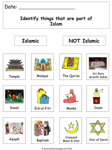 Ks1 Islam Lesson Plan Powerpoint And Worksheets By