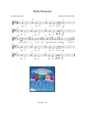 Music Time Greeting Song