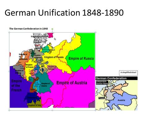 German Unification 1848-1890 Summary