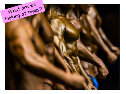 Male body image bigorexia body muscle dysmorphia PSHE Health and Social Care lesson