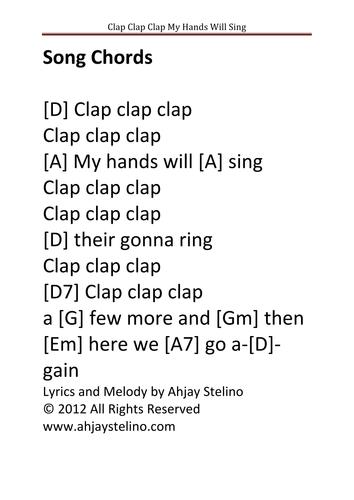 A Clap Along Song