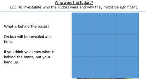 *Full Lesson* The Tudors: Introduction to the Tudors