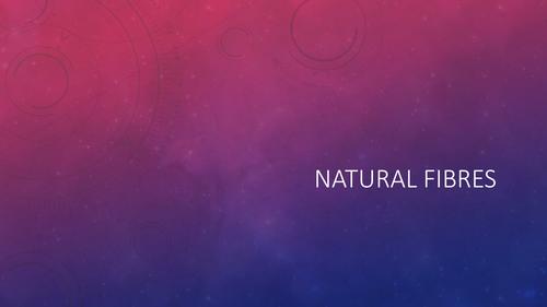 Natural Fibres exam questions