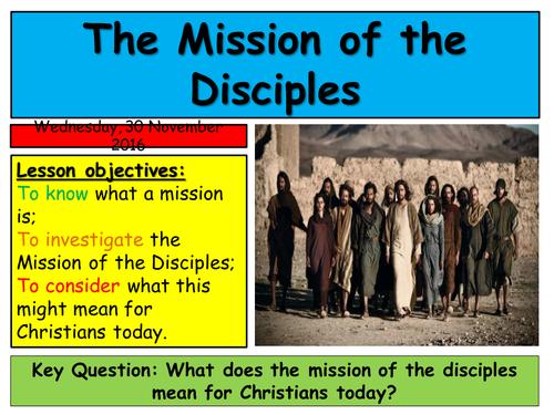 KS3 Sending out the 12 Disciples
