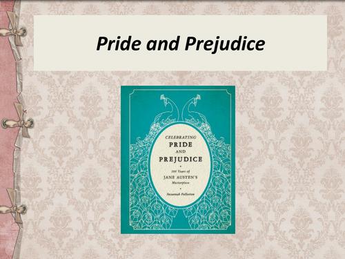 Pride and Prejudice Intro Lesson - GCSE 9-1