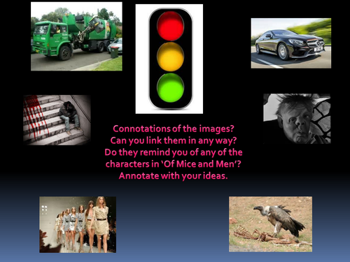 Analysing Poetry - 'Two Scavengers in a truck...'