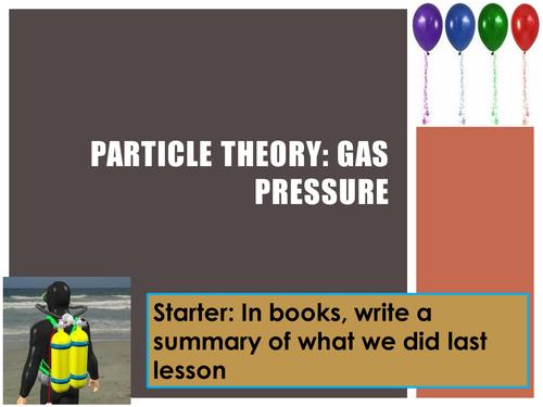 Year 7 Gas Pressure