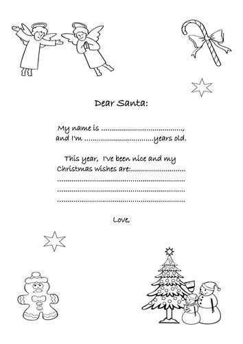 Letter to Santa p.2