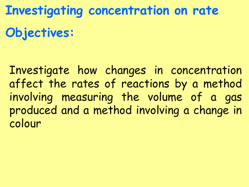 AQA Chemistry New GCSE (Paper 2 Topic 1- exams 2018) – Rate and extent of chemical change (4.6)