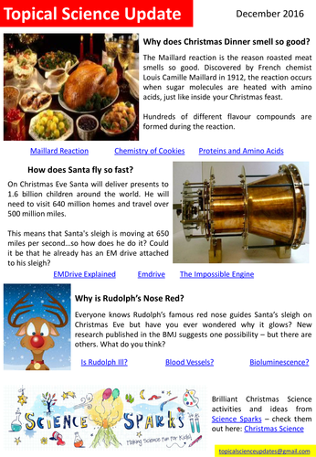 Topical Science Update - December