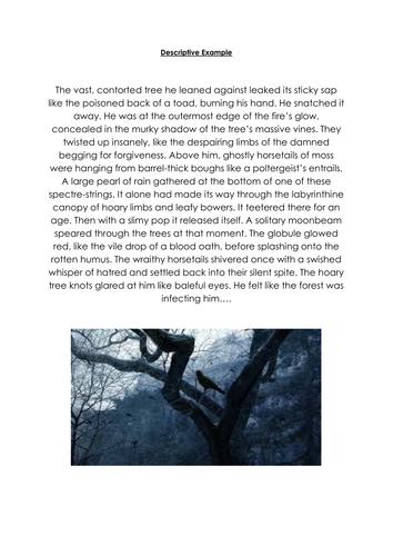 Descriptive Writing WAGOLL