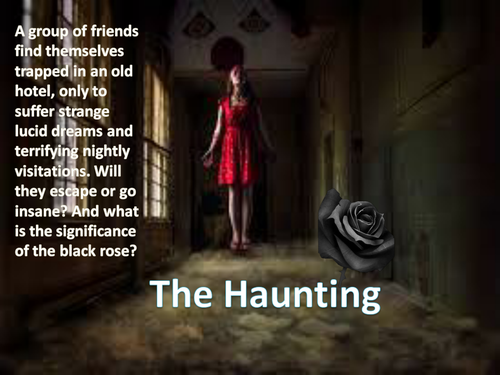 The Haunting - Horror Creative Writing - One Off Lesson