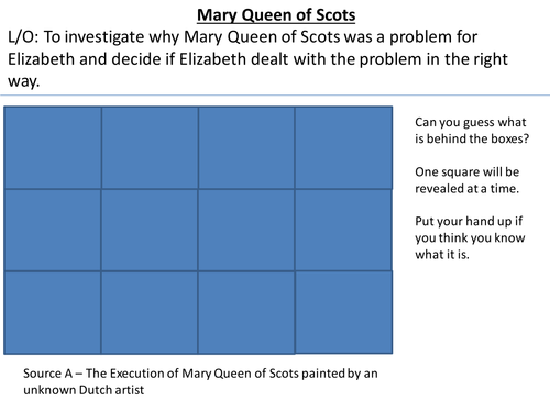 *Full Lesson* The Tudors: Should Elizabeth Execute Mary Queen of Scots?