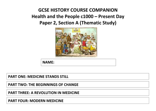 AQA GCSE History (9-1) Health and the People Course Companion