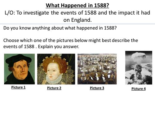 * Two Full Lessons* The Tudors: The Spanish Armada