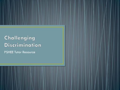Discrimination / Equality Act 2010