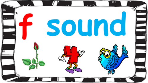 F sound presentation