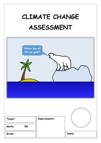 CLIMATE CHANGE: end of topic  test