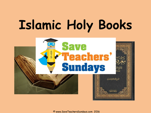 The Qur'an KS2 Lesson Plan, Information Text and Worksheet
