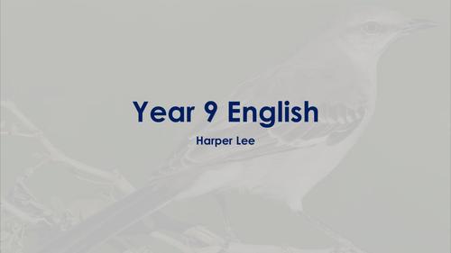 'To Kill a Mockingbird' presentation