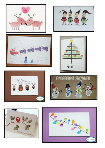 Christmas Card Art Ks2.Dt Christmas Card Project