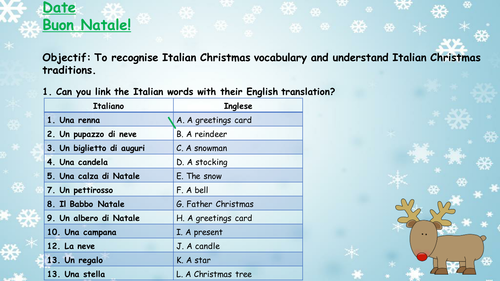 Introducing holidays - GCSE Italian by Phil1609 - Teaching Resources ...
