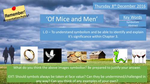 Of Mice and Men - Symbolism