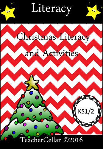 My Christmas Literacy Activity Book