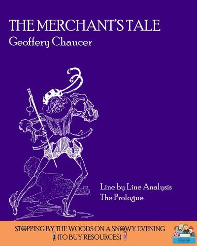Chaucer - The Merchant's Tale - The Merchant's Prologue