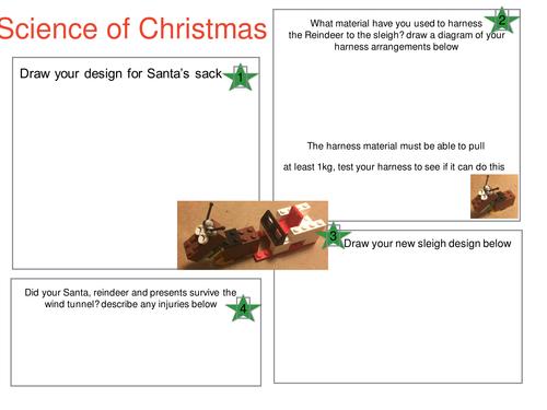 Santa Science (help Santa on his Journey)