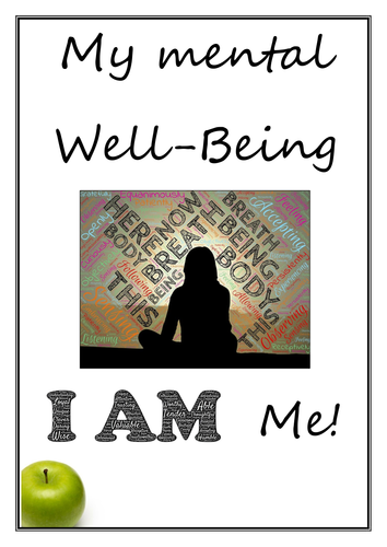 Fun and Thought-Provoking Mental Well-Being Booklet full of activities
