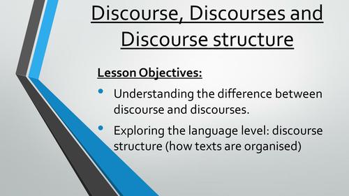 Discourse Structure: AS Language