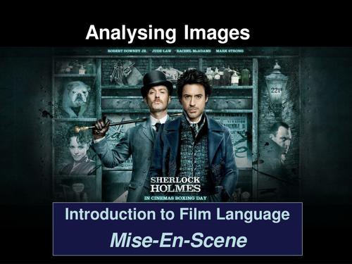 Introduction to Film Language Mise-En-Scene-