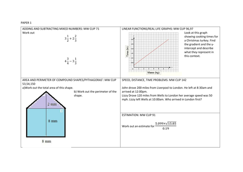 Consolidation Worksheets for Pearson Maths 9-1 Higher Textbook ...