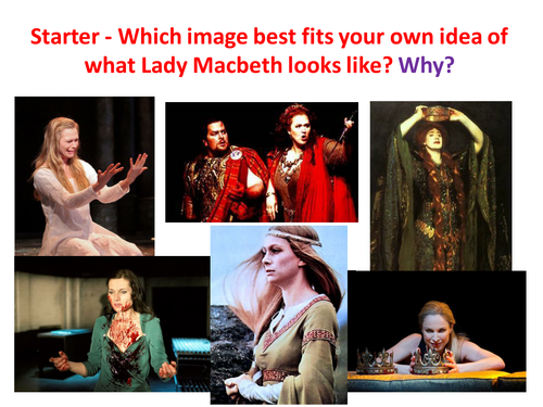 Macbeth - Act 5, Scene 1 (comparative essay)