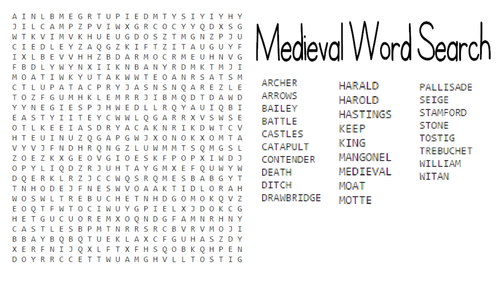 Medieval games and activities
