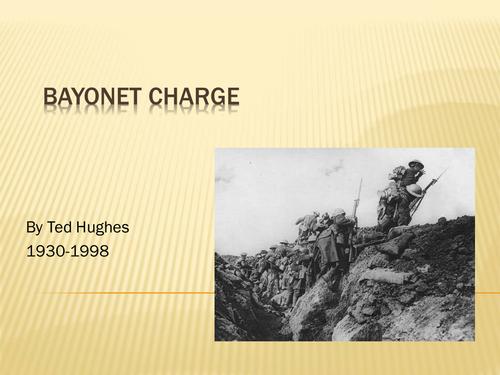 bayonet charge ted hughes essay