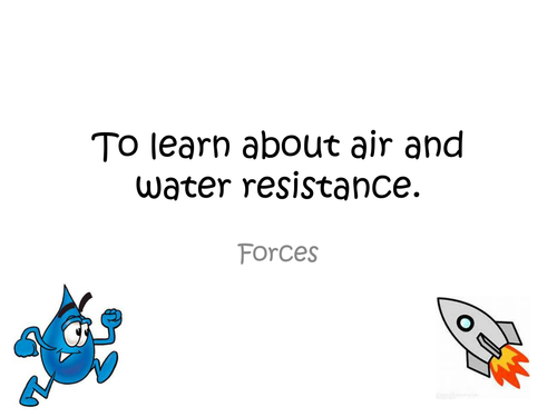 Primary primary science teaching resources: Forces and