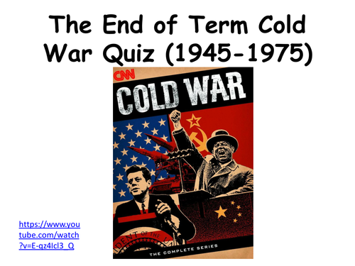 Cold War Quiz 45-75
