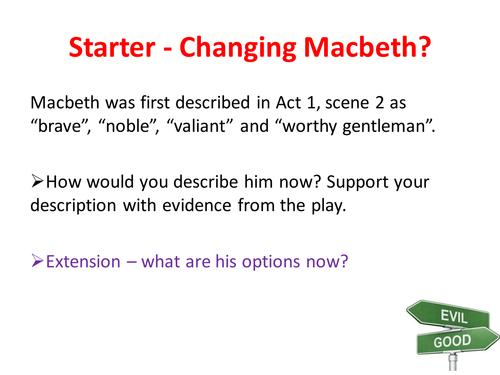 Macbeth - Act 5, Scenes 2-4