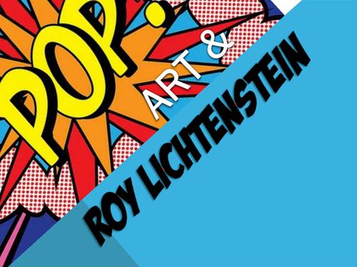 Pop art roy lichtenstein by jono1975 teaching resources tes toneelgroepblik Choice Image