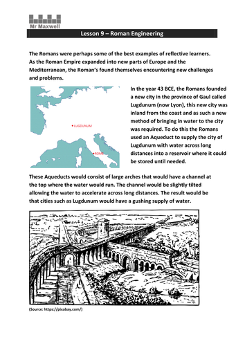 Lesson 9: Roman Engineering